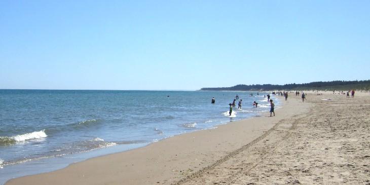 ウェックスフォード湾北岸の海岸線-2