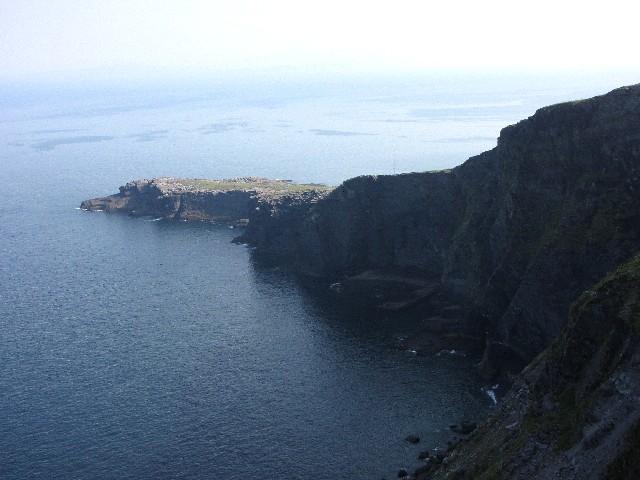バレンシア島の断崖 Clif of Valencia
