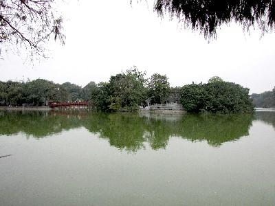 ホアン・キエム湖 ハノイ ベトナム Ho Hoan Kiem, Vietnam 2010/01/11 Photo by Kohyuh
