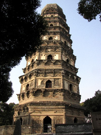 雲巌寺塔  虎丘 蘇州 Huqiu Pagoda, Tiger Hill, Suzhou 2010/01/08 Photo by Kohyuh