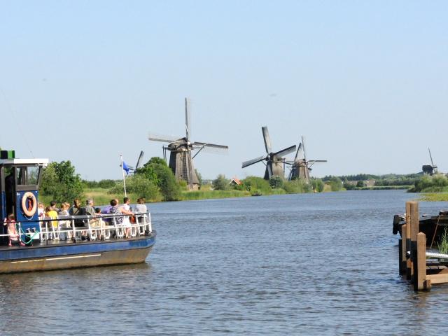 キンデルダイクの風車群 (2) Windmills at Kinderdijk, Netherlands 2011/06/02 Photo by Kohyuh