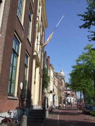 シーボルト・ハウス (旗が見える家)
