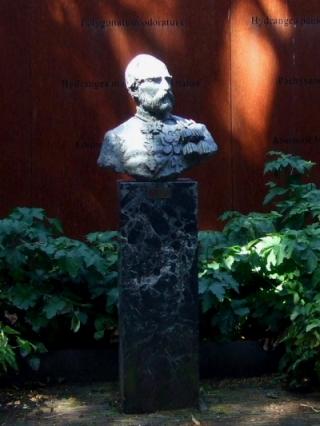 シーボルトの像