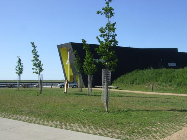 オースト・バールデルス・プラッセンのビジター・センター