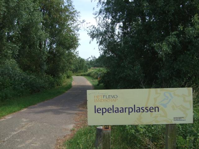 レーペラール・プラッセンの入り口 Lepelaarplassen entrance