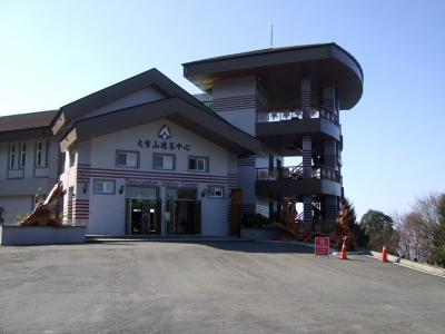 大雪山ビジターセンター 43km 2012/02/29 Photo by Kohyuh