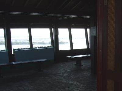 賞鳥亭の観察室