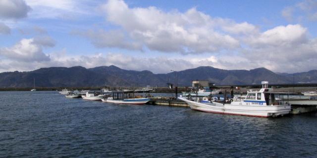 湖北町の漁港 2013/01/17 Photo by Kohyuh