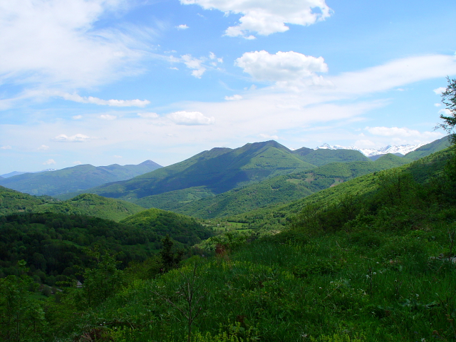 モンセギュールに向かって (6景-4) bound to Montsegur,  Frabce, 2005/05/20